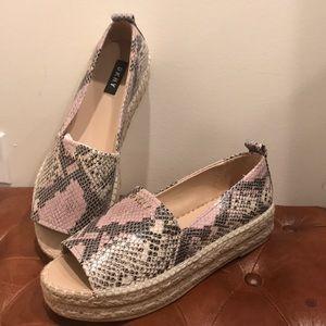 Brand New DKNY Slide On - Open Toe Sandal